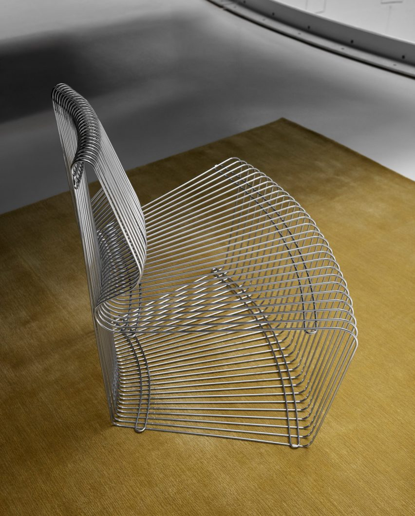 Pantanova chair by Verner Panton for Montana
