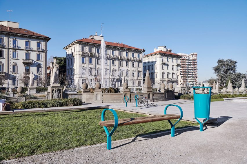 Folk outdoor furniture collection by Vestre and Front