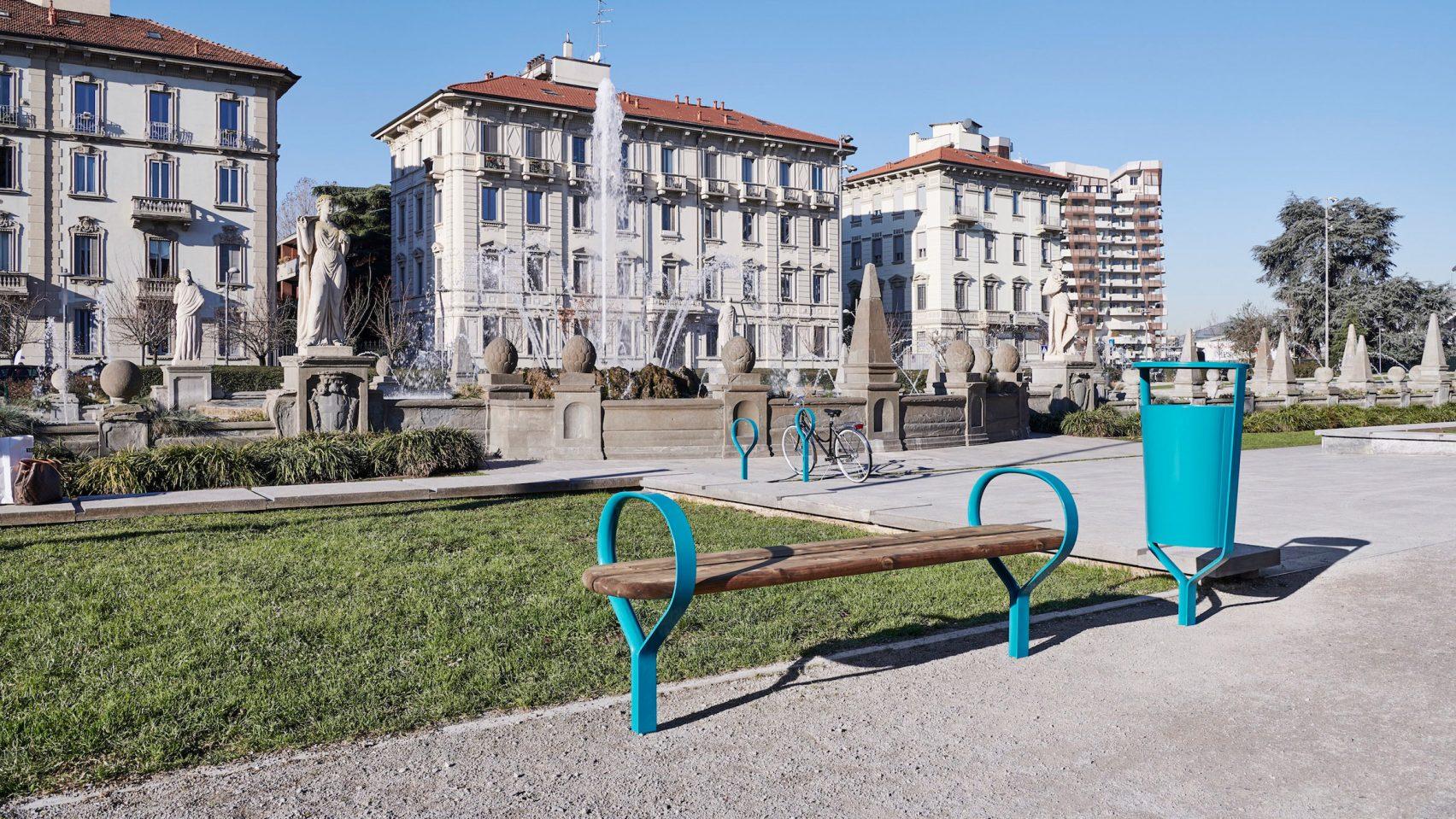 Уличная мебель от Vestre