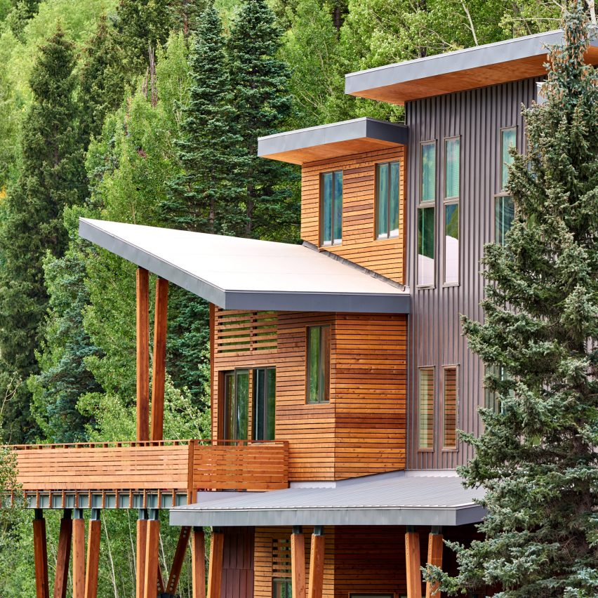 Virginia Placer sustainable and affordable mountain homes in Colorado by Charles Cunniffe Architects