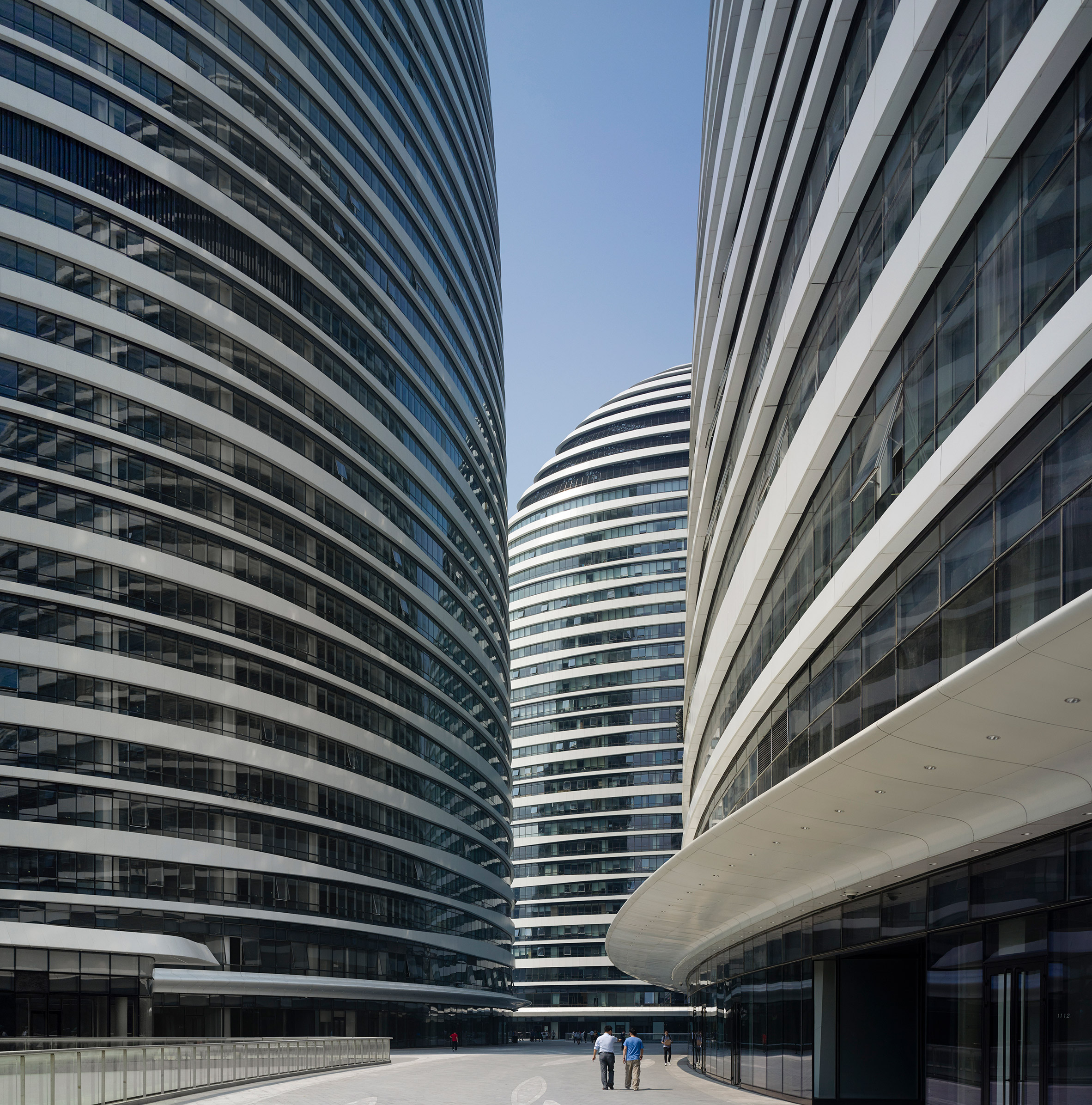 A property developer has won a court case against a website that said the Zaha Hadid Architects design Wangjing Soho had . bad Feng Shui
