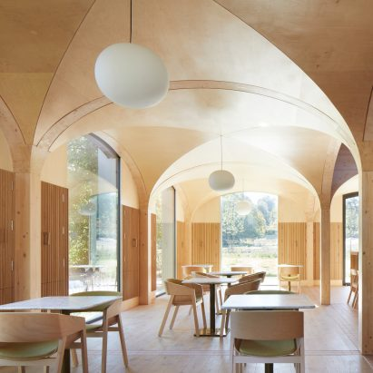 Wildernesse restaurant by Morris + Company