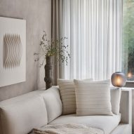 Alex P White pairs soft tones and raw textures in model New York apartment