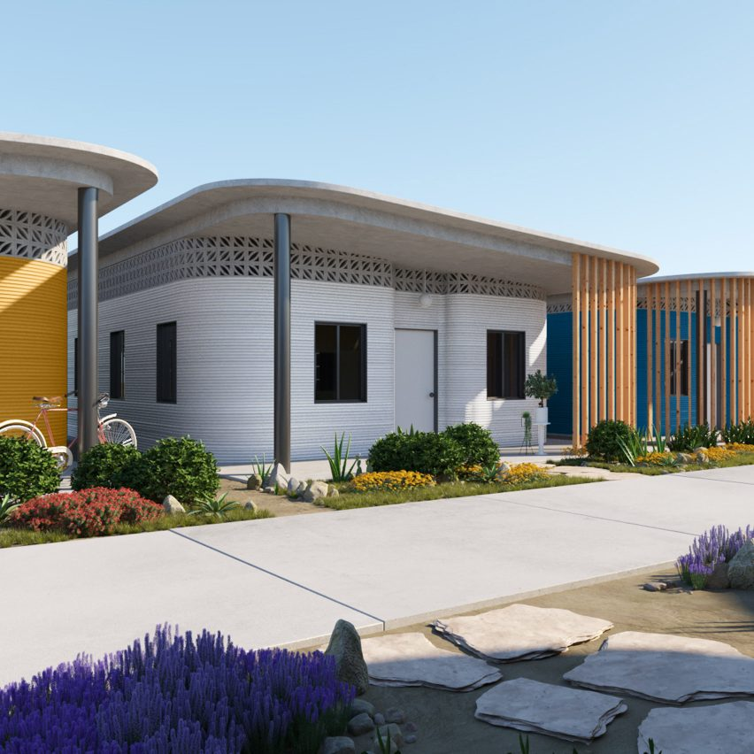 """Yves Béhar designs """"world's first 3D-printed community"""" for Latin America"""