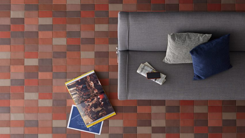 Barber and Osgerby Lane Primavera tiles Mutina