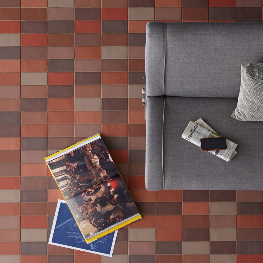 Barber and Osgerby studies colour to create new Mutina tile collections
