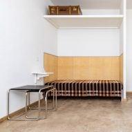 Wallace Sewell recreates Gunta Stölzl's original Bauhaus dormitory blanket