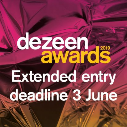 Dezeen Awards 2019 extended entry deadline