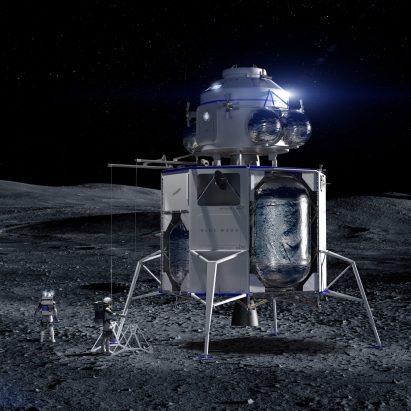 Jeff Bezos Blue Moon lunar landing