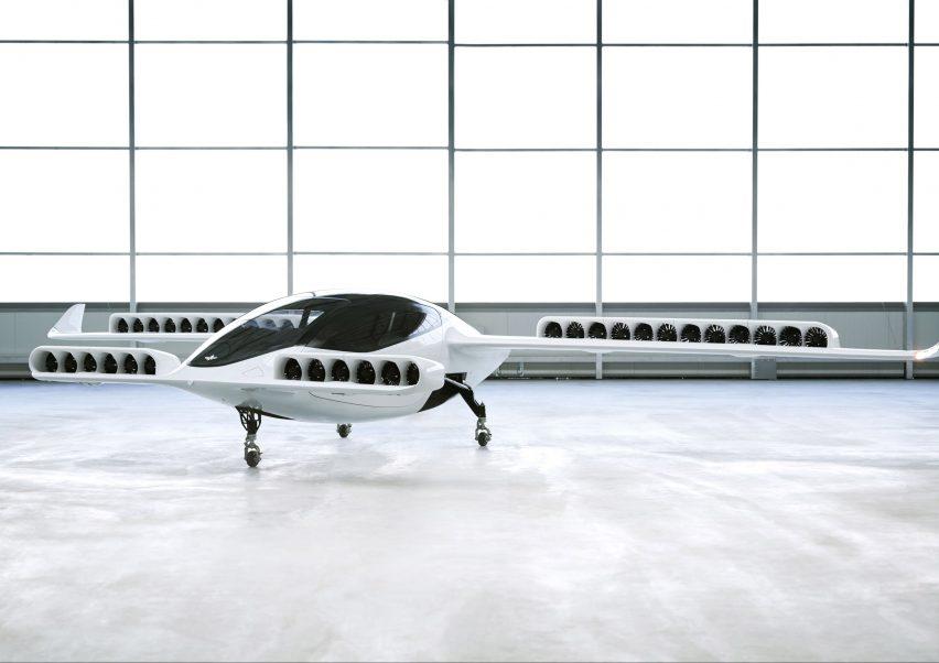 Lilium Jet all-electric air taxi prototype