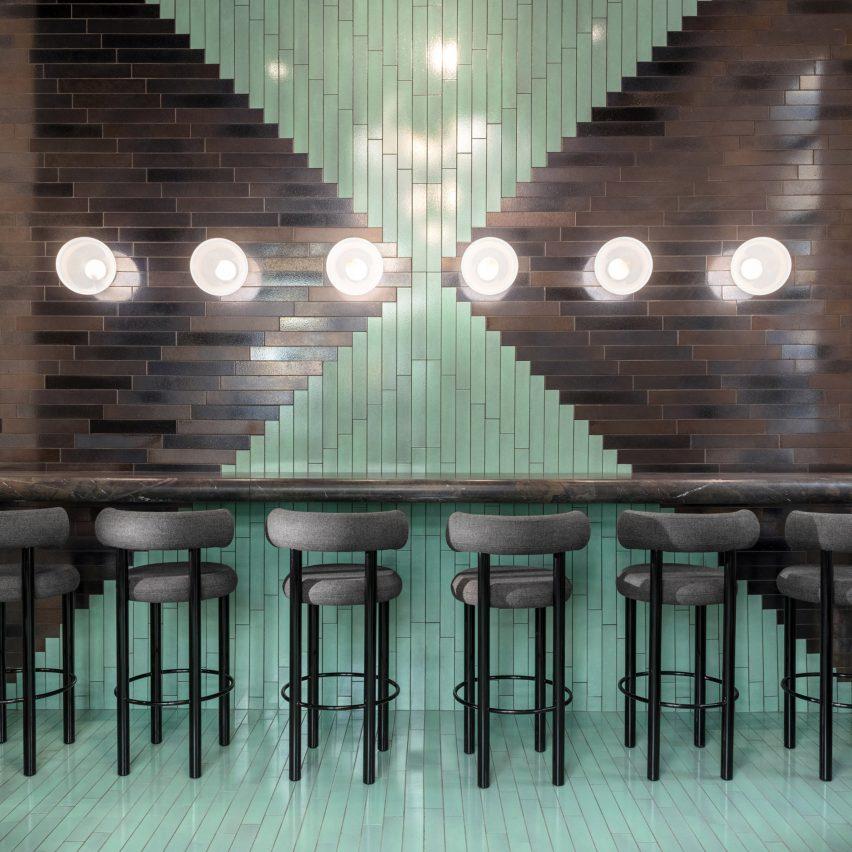 The Manzoni Tom Dixon restaurant interior Milan