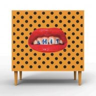 """Seletti launches """"crazy and over-the-top"""" retro cabinets with Toiletpaper"""