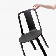 Gilli Kuchik and Ran Amitai use magnesium to create extremely light Vela chair
