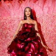 Zac Posen 3D prints rose-petal dress for Met Gala