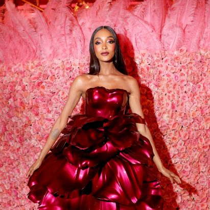 Zac Posen designs 3D-printed rose petal dress for Met Gala