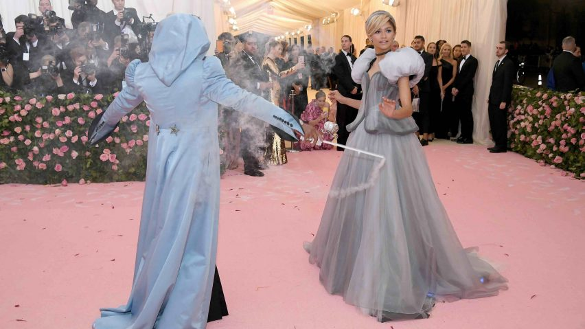 Zendaya's Cinderella dress at the Met Gala