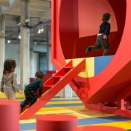 Landscape for Play is a huge colourful playground in Madrid