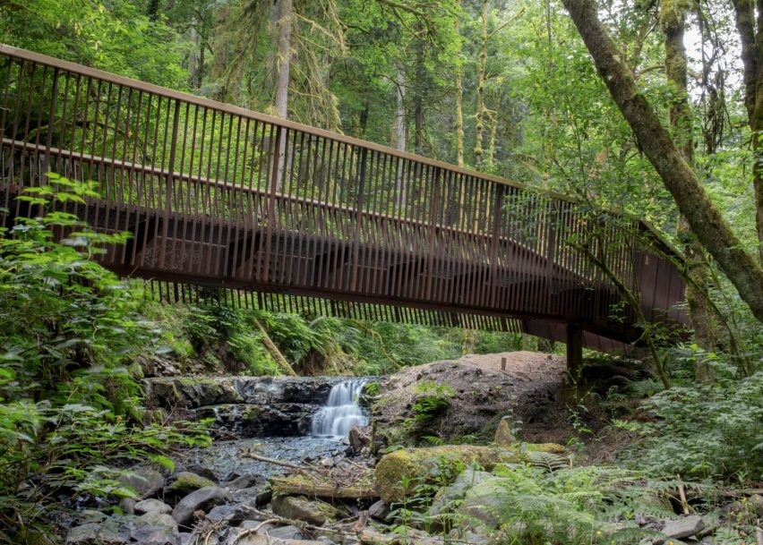 Forest Park Bridges, Portland, Oregon by Fieldwork Design & Architecture