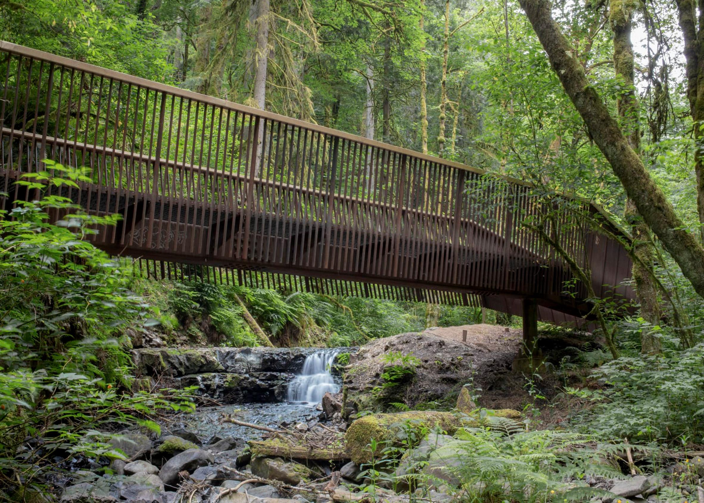 Forest Park Bridges, Portland, Oregon by Fieldwork Design & Architecture