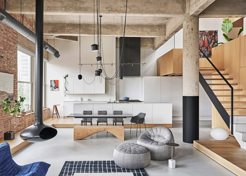 Michigan Loft, Chicago by Vladimir Radutny Architects