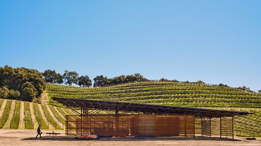 AIA Small Projects 2019, Saxum Vineyard Equipment Barn