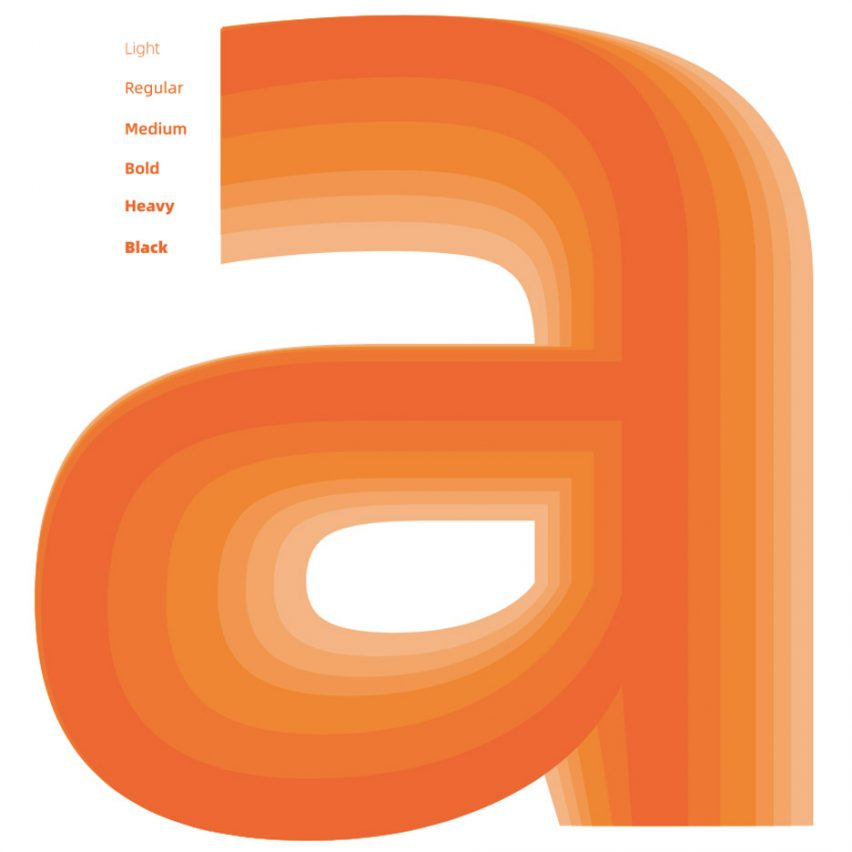 Alibaba Sans typeface