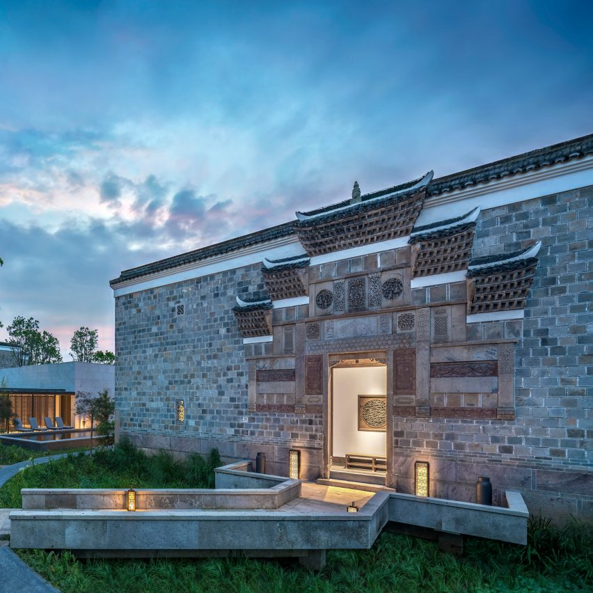 """Amanyangyun resort by Kerry Hill Architects designed to be """"a living museum"""""""