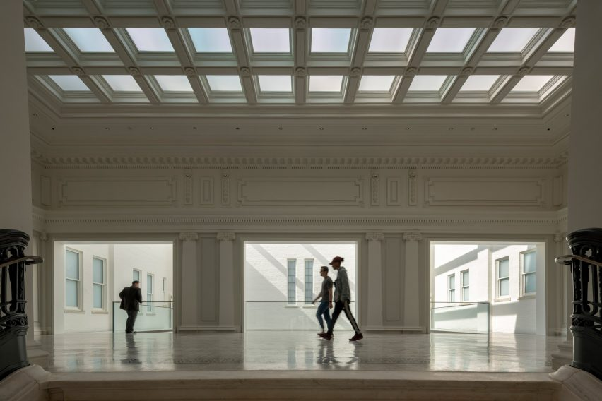 Apple Carnegie Library by Foster+Partners in Washington, DC