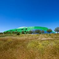 "Jean Nouvel completes ""earth-work"" library at University of Cyprus"