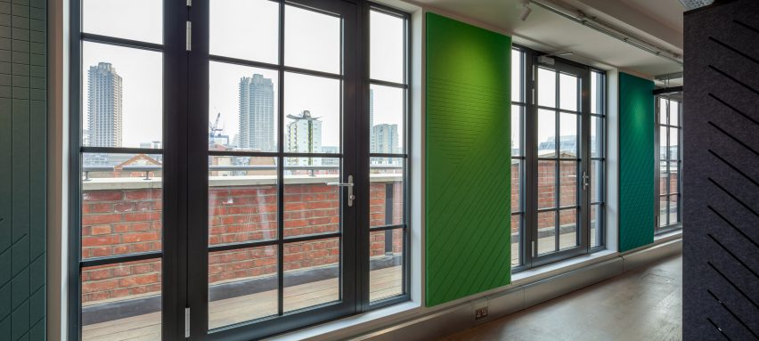 Autex's Clerkenwell showroom promotion