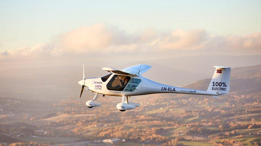 Avinor's Alpha Electro aircraft