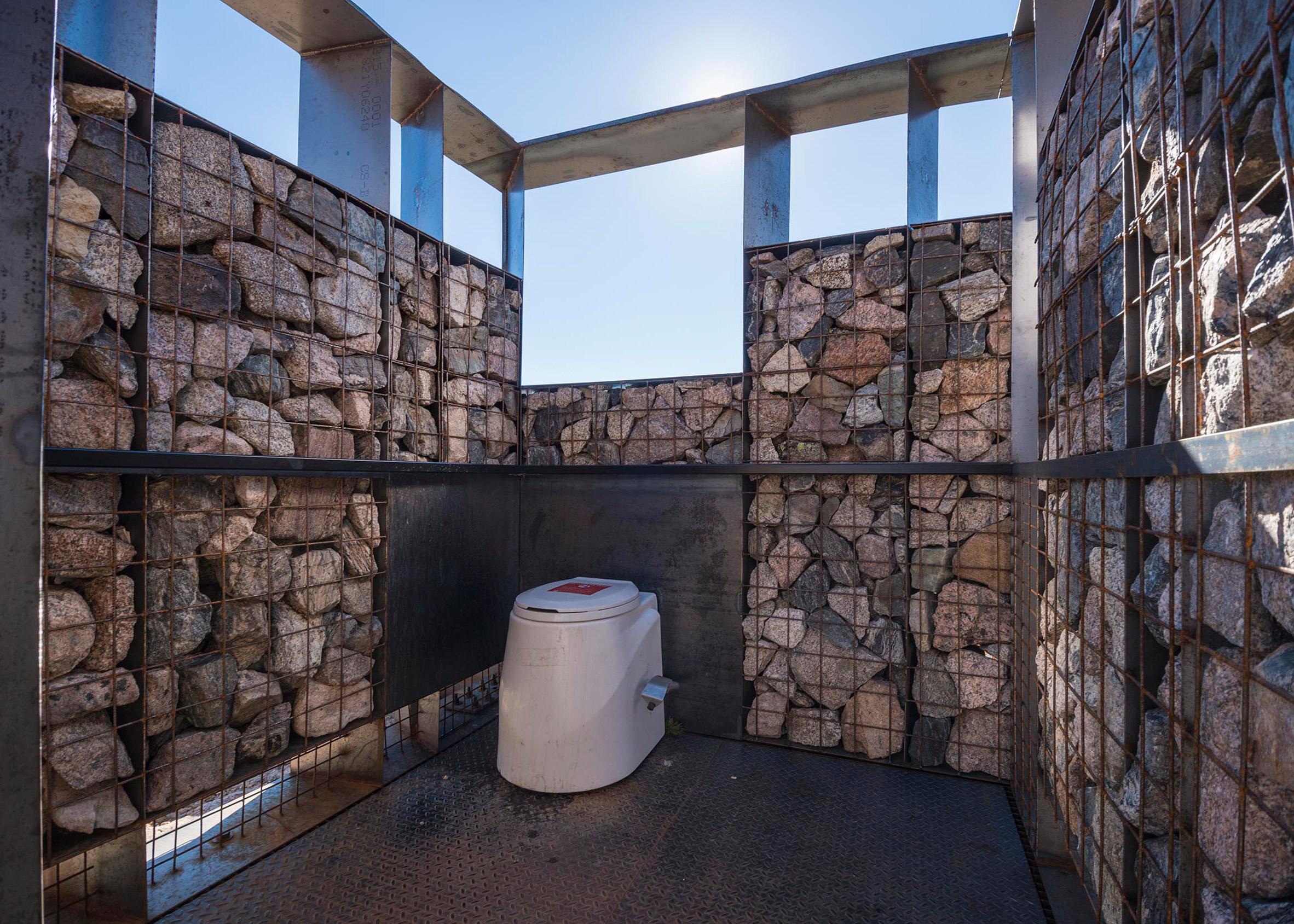Longs Peak Toilets, Rocky Mountain National Park, Colorado by ColoradoBuildingWorkshop