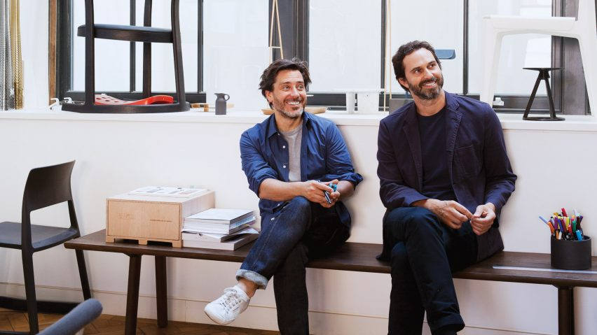 """Office of the future """"will only be a place where people come together"""" say Barber and Osgerby"""