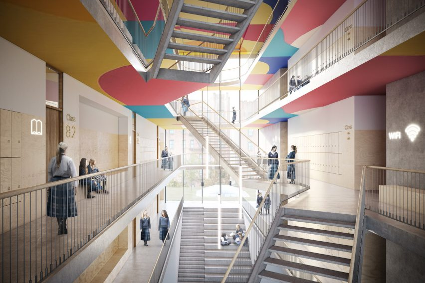 Crown Heights Beth Rivka Girls School by ODA