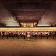Carmody Groarke creates new entrance to BFI Southbank