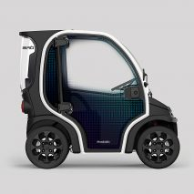 Mandalaki's Birò O2 concept car is made from 80 per cent recycled plastics