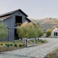 Calistoga Residence in Napa Valley draws on local barns and farmhouses