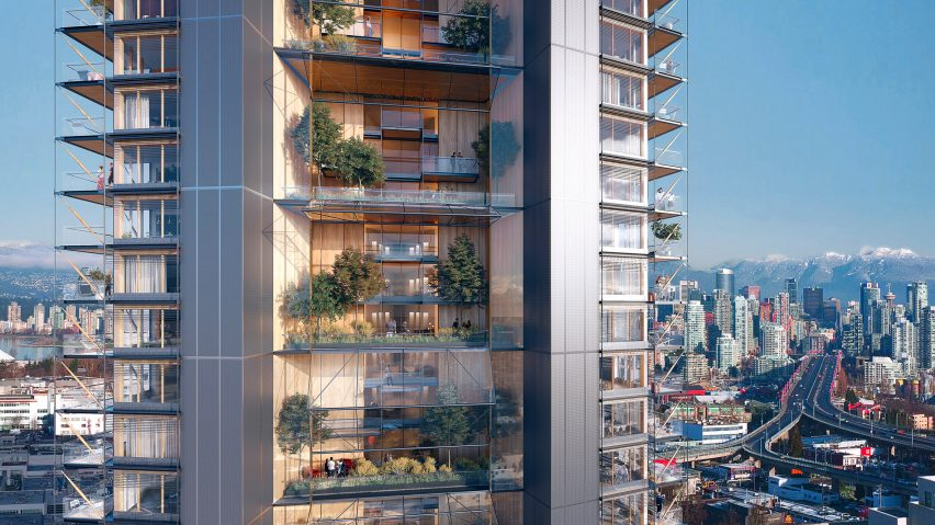 Canada's Earth Tower by Delta Land Development and Perkins+Will in Vancouver, British Columbia, Canada
