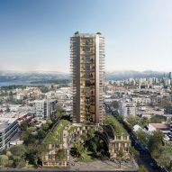 "Perkins+Will designs ""world's tallest hybrid wood tower"" for Vancouver"