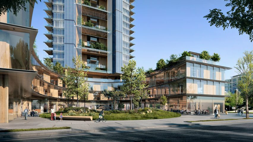 """Perkins+Will designs """"world's tallest hybrid wood tower"""" for Vancouver"""
