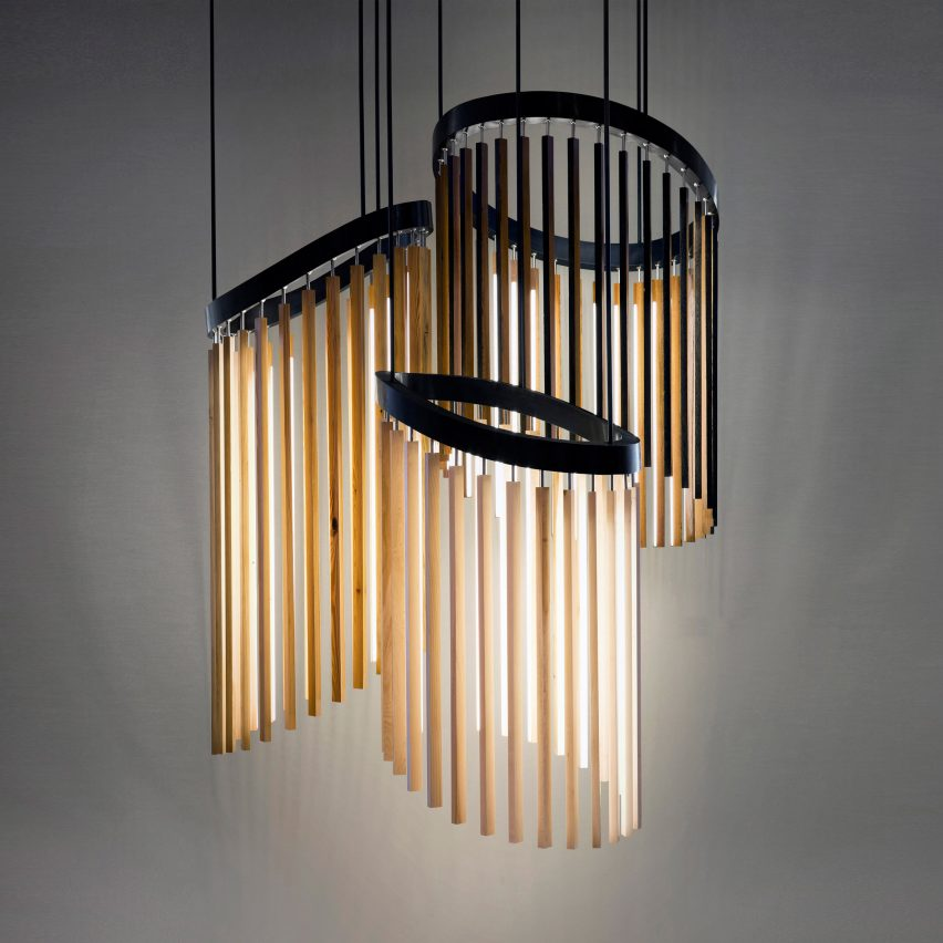 """Stickbulb designs Chime to look like a """"tree and a chandelier had a baby"""""""