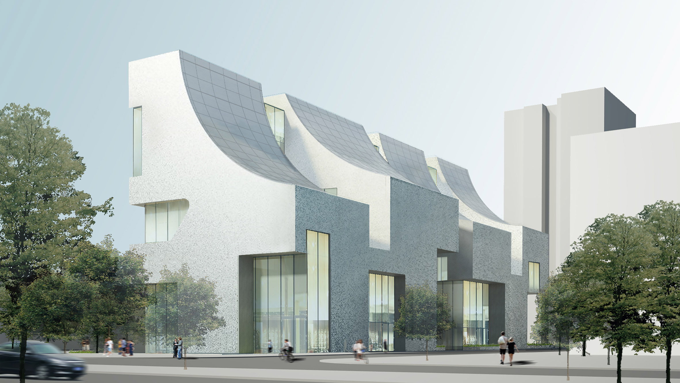 Steven Holl Architects Designs Cifi Building In Beijing With