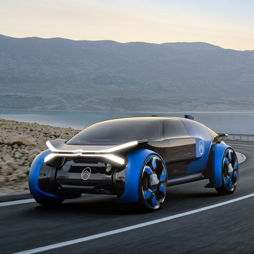 "Citroën's 19_19 concept car aims to take passengers on a ""magic carpet ride"""