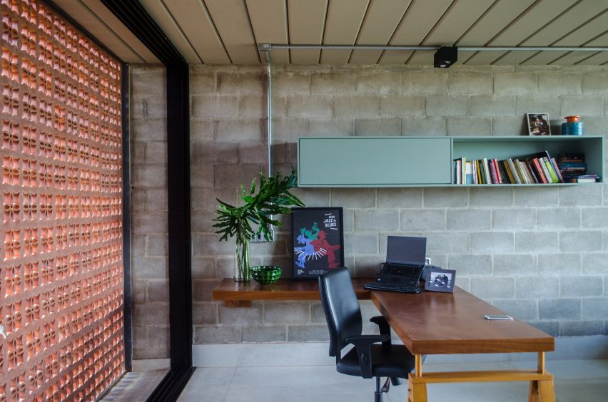 Cobogo House by Guilherme Fiorotto in Sao Paulo, Brazil