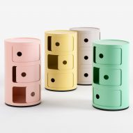 Kartell creates bioplastic version of its iconic Componibili storage unit