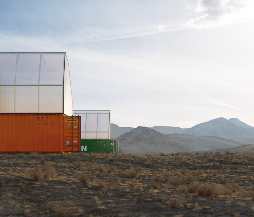 Container House by TRS Studio