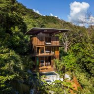 Olson Kundig designs Costa Rica Treehouse to tread lightly on the earth