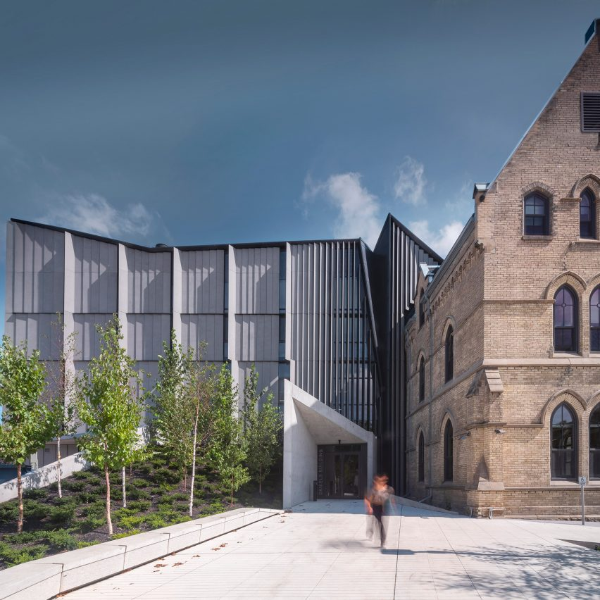 NADAAA fuses old and new to create Daniels Building on circular Toronto site