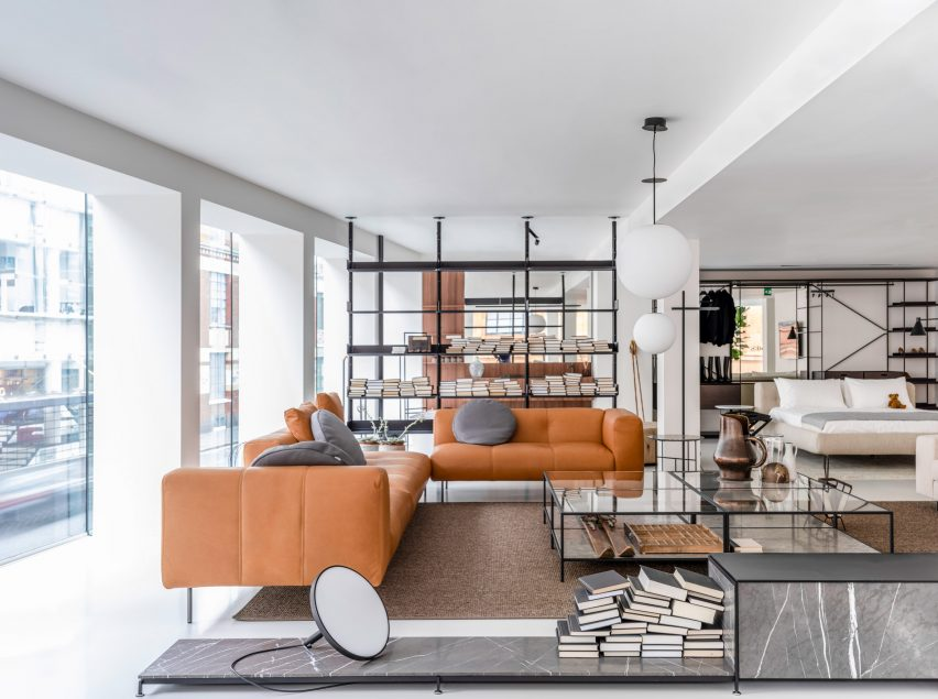 Design Piero Lissoni.Piero Lissoni Completes Inaugural Uk Showroom For Depadova