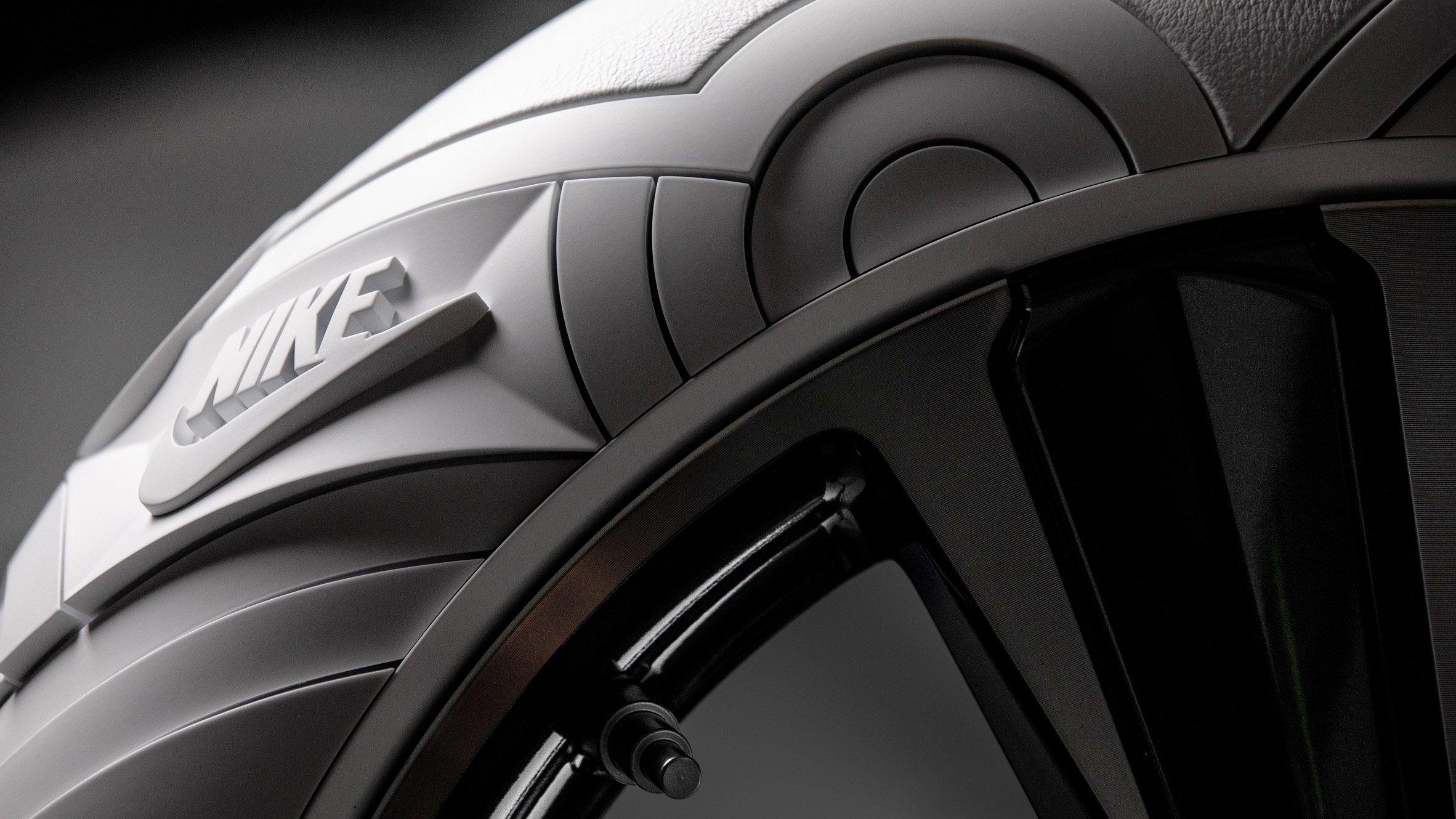 Tej Chauhan designs car tyre based on